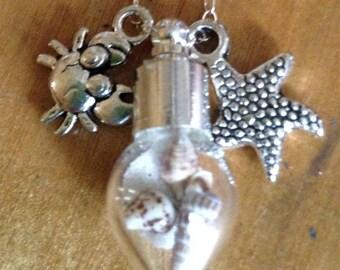 Sand Globe Necklace