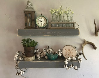 Floating Shelf Floating Shelves Ledge Shelf Farmhouse Shelf Rustic Floating Shelf Chunky Shelf Farmhouse Decor Chunky Shelves