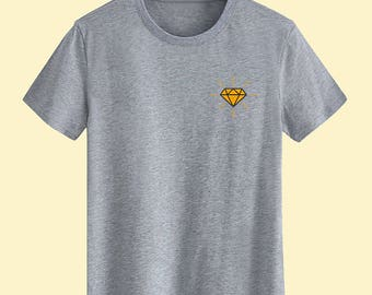 Diamond Unisex T shirt T Shirts For Men T Shirts For Women T Shirt For Youth Street T-shirts Hipster T Shirt Customize Gift T Shirt
