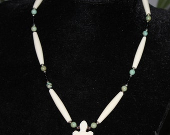 Beaded Turtle Necklace