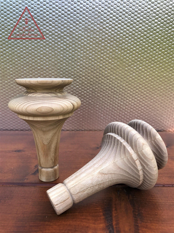Turned Wooden Leg Sofa Leg Wooden Furniture Leg Wooden Turned