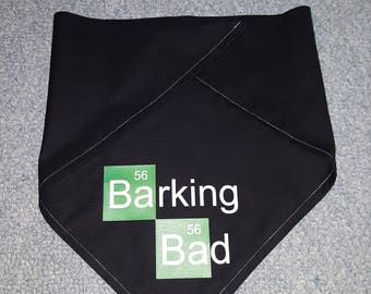 Barking Bad Dog Bandana