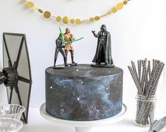 Galaxy Cake- Fake cake, prop cake, party decor