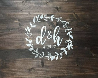 Wood Sign Wedding Guest Book Sign