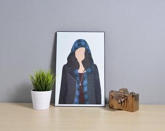 Sarah Manning [Orphan Black] | Digital Art | 11x17 Poster