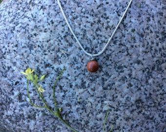 Beautiful Simple Gemstone Necklace