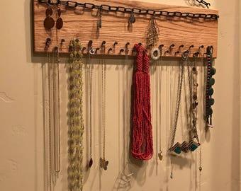 Industrial Inspired Jewelry Organizer