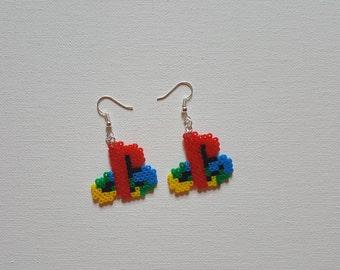 Playstation Logo Earrings