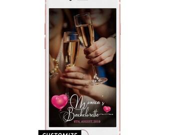 Party Balloon Bachelorette Geofilter/ Bachelorette Snapchat Filter/ Bachelorette Party Geofilter/ Snapchat Filter Bachelorette Party Balloon