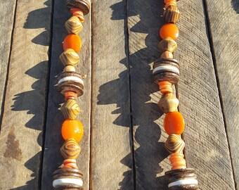 Necklace from Madagascar, Brazil, Indonesia, Peru, Kenya, East Timor, Morocco