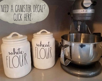 Decal Only~Rae Dunn Style Pantry Label Decals for Canisters~Rae Dunn Decor~Kitchen Decor~Choc Chips~Sugar~Baking Labels~Kitchen Organization