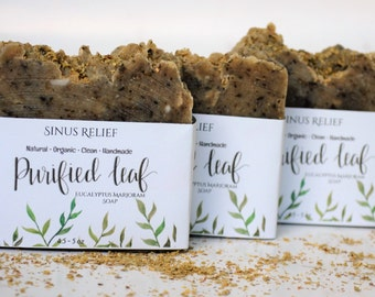Handmade soap, Sinus Relief Soap, Homemade soap, Natural Soap, Soap bar, Eucalyptus Soap, Organic soap, handmade soap  bars, Eucalyptus