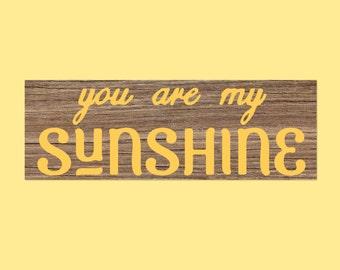 You Are My Sunshine, SVG, Fixer Upper Home Art, Magnolia Farms, Magnolia Market Sign, Vector, Cut File, Printable, Print, Distressed SVG