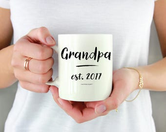 Grandpa Mug, New Grandpa Mug, Grandpa Gift, Gift for Grandpa Coffee Mug, Fathers Day Gift, Grandpa Coffee Mug, Grandfather Mug