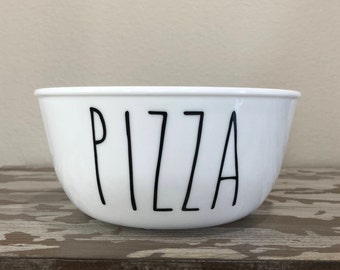 "Dog Bowl ""Pizza"" -Dog Dish Pet Bowl Dog Bowl Pizza Pizza Lovers Pizza Bowl Funny Dog Bowl Dog Food Bowl Dog Water Bowl Pet Dish Dog Bowl Set"