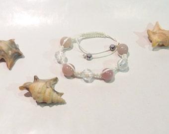 "Bracelet Shamballa ""Albizia"""
