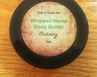 Arcany Whipped Hemp Body Butter