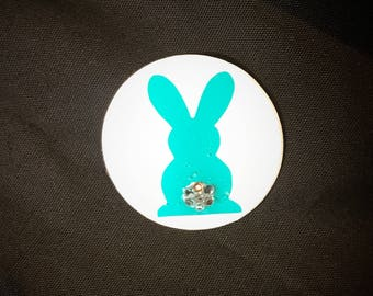 Bunny Pop socket w/Swarovski Crystals