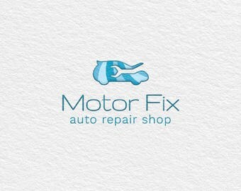 Ready Made Logo Template / Instant Logo Design / Premade Logo / Vector Logo / Branding / Car Service / Automobile / Auto Repair Shop