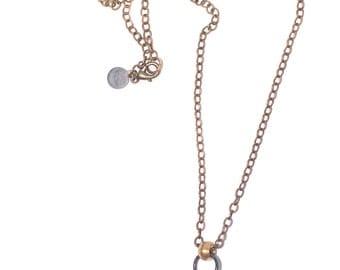 Quartz Crystal necklace. healing crystal, raw quartz, layering necklace