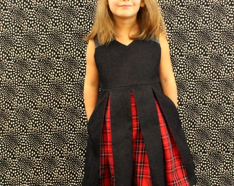 Raglan Party Dress PDF Pattern - Inverted Pleats, Pockets, Invisible Zipper, Underskirt All With LOTS of Tips