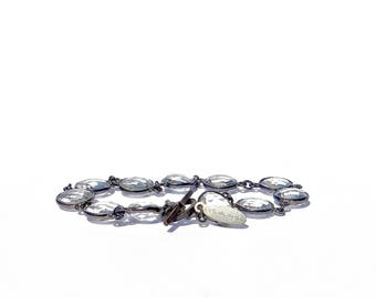 Faceted Rock Crystal Bracelet