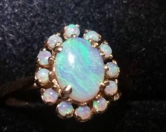 Vintage 14kt Gold Opal Ring
