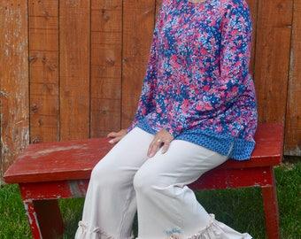 Women's Yoga Ruffle Pants