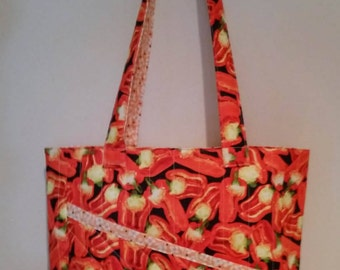Quilted Market Tote Bag