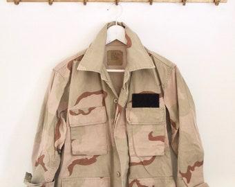 vintage DESERT STORM ARMY jacket