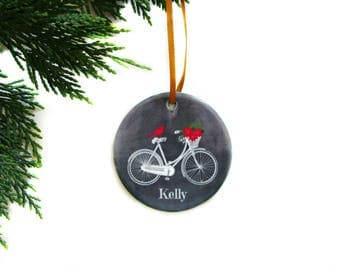 Bicycle ornament | Etsy