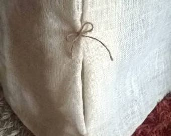 Colored Bedskirt  - Colored Burlap Dust Ruffle - Burlap Bedskirt - Bed - Farmhouse Bedskirt - Burlap Valance - King Size - Choose Color