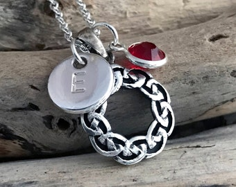 Celtic Knot Necklace CLT041