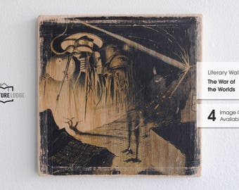 Literary Wall Tile: The War of the Worlds (Multiple Designs Available)