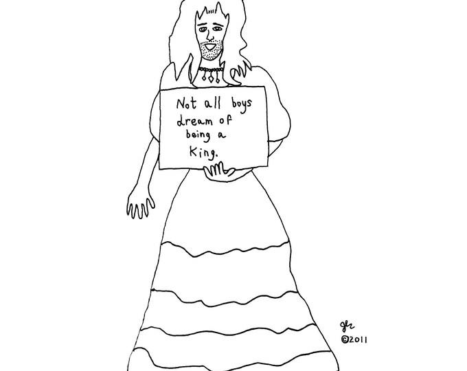 Art Print Punk Shirts Punk Shirt LGBT Lesbian Gay Bisexual Transgender Queer Genderqueer Queercore Drag Queen Political Shirt