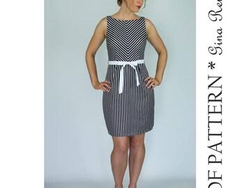 Womens Dress Pattern - Dress Sewing Pattern - Dress PDF pattern - Dress Pattern Women