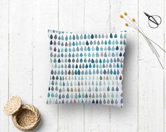 Pillow covers Nordic style decor | Cushion case  Nordic style | Watercolor pillow | Cushion soft and warm tonalities | Pillowcase watercolor