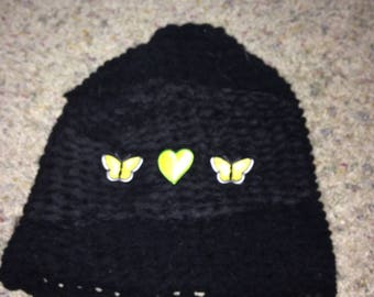 Yellow Butterly Hat
