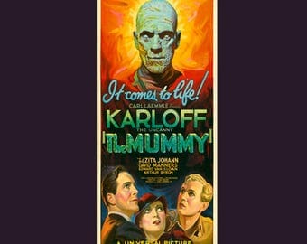 The Mummy Movie Poster 1932 Film Finest Quality Many Sizes Available