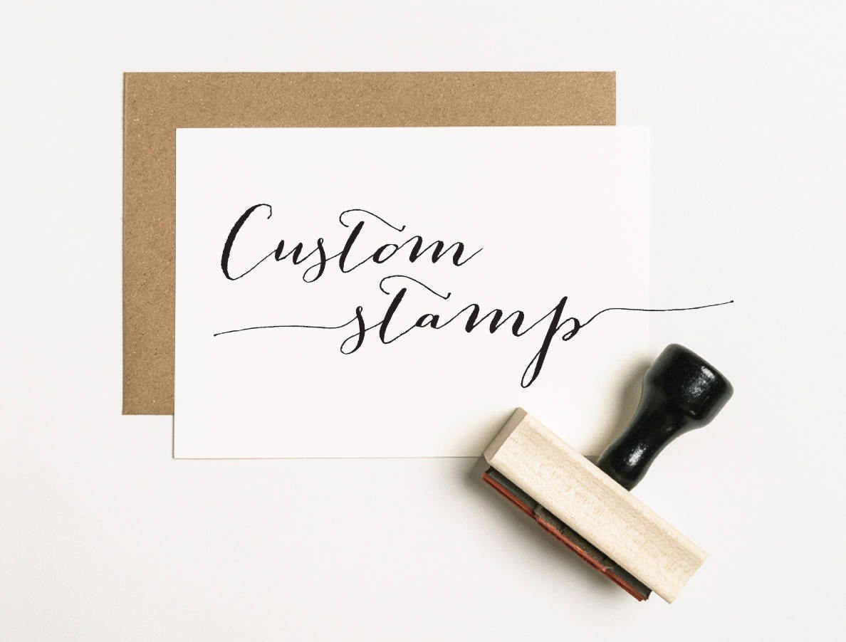 Image result for Custom Rubber Stamp