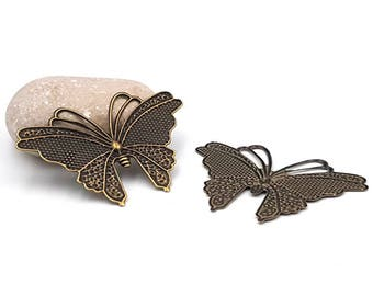 bronze 59mm butterflies 20 prints