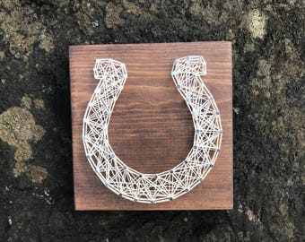 MADE TO ORDER - Horseshoe String Art