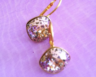 Wedding earrings pearls Swarovski