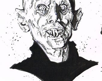 Barlow Salems Lot original pen art