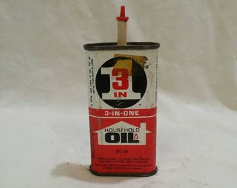 3 in 1 household antique oil can