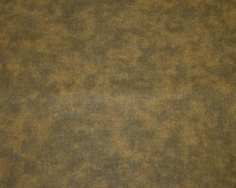 Fabric patch faux plain Green-Brown