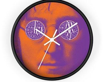Imagine John Lennon Wall Clock (Ships from USA)