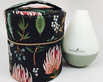 Young Living Essential Oil Diffuser Case with interior pockets for your oils!