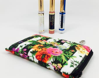 LipSense Bag, LipSense travel bag, Lipstick holder, Lipstick bag, LipSense, Keychain bag, Travel Pouch, Lipstick travel bag