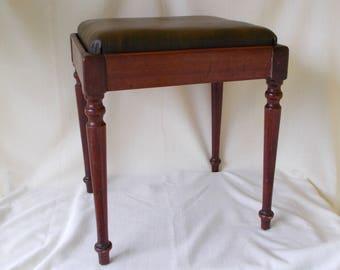 Vintage Singer Sewing Machine Bench